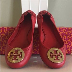 Tory Burch red Shoes ❤️